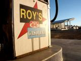 Gas Pump, Roy's Cafe