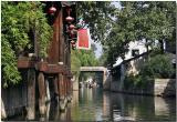 Tea house on a canal