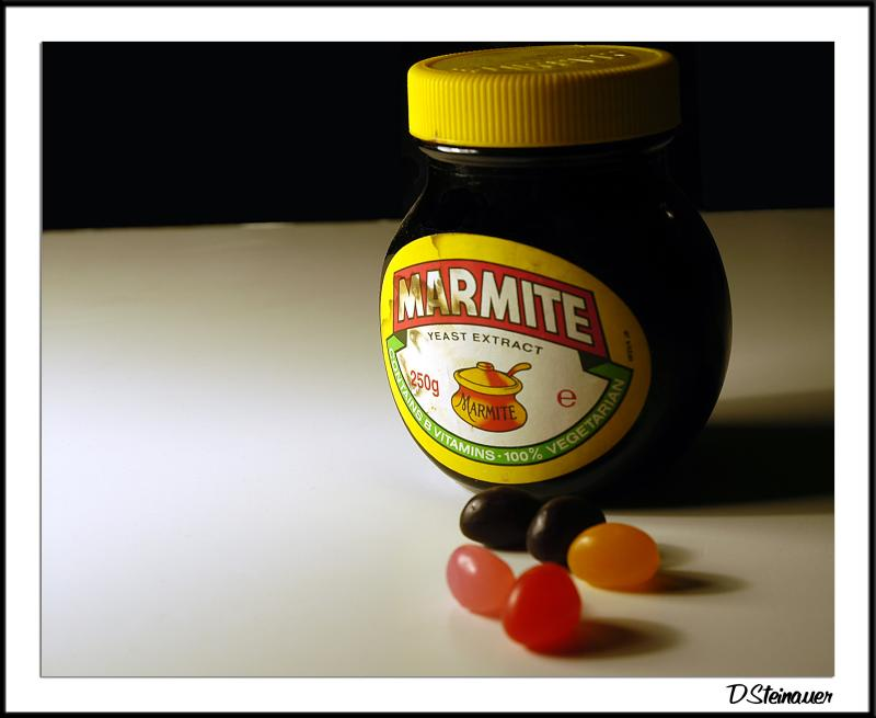 Marmite goes well with ...