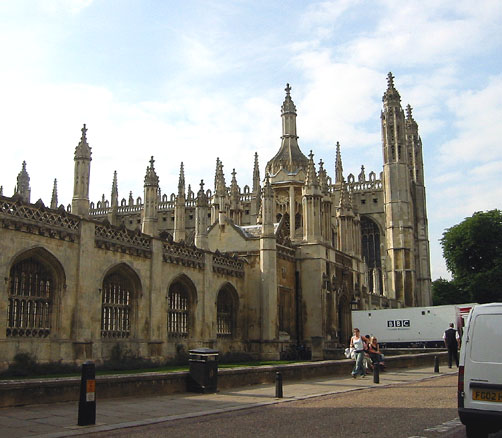 Kings College--view from Kings Parade