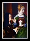 Portrait de Madeleine de Bourgogne (1490) par Jean HEY