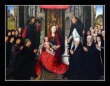 La Vierge et l' Enfant (1435) par Hans MEMLING