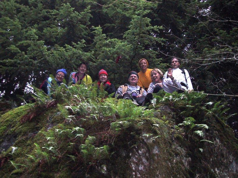 Lone Rock -- Peter, Karen, Leah, Mel, Cheri, Lynn & Dave