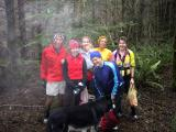 Tiger Christmas Tree -- Glenn, Leah, Lynn, Peter, Cheri, Karen & Tonto