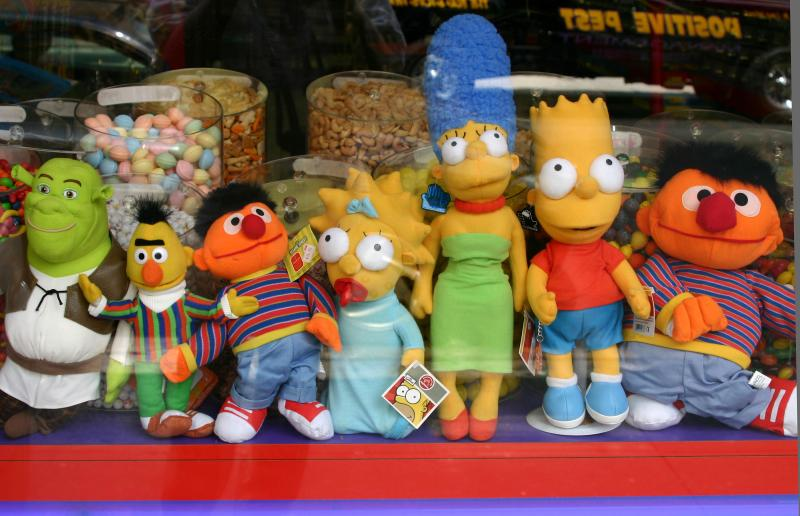 Muppets at the Candy Store