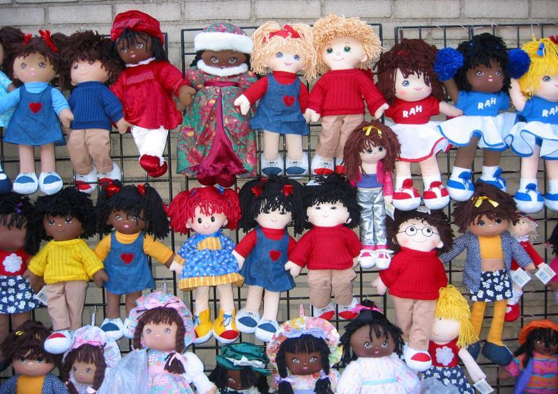 Our Lady of Pompei Street Dolls