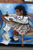 Mural at the Playground on Greenwich Avenue