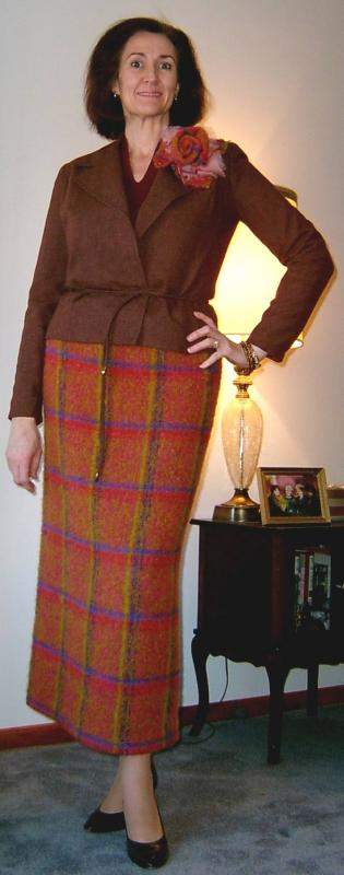 Wild Plaid Skirt