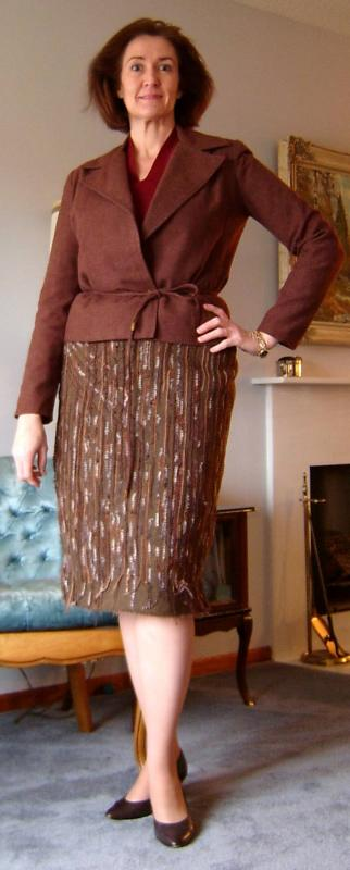 Finished Skirt Front