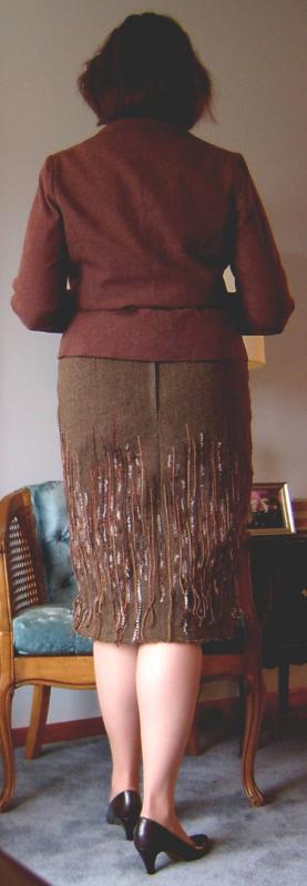 Finished Skirt Back