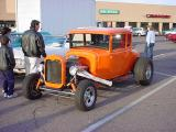 five window model T coupe