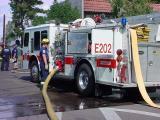 71. firemen and firetruck