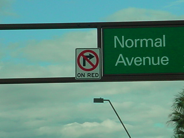 a nice normal no right <br>turn sign in Tempe AZ