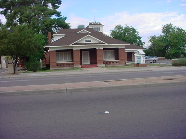 an old home in Tempe Arizona