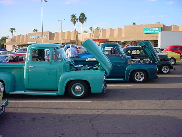 a collection of Green Trucks