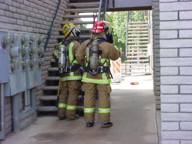 Mesa Arizona fireman