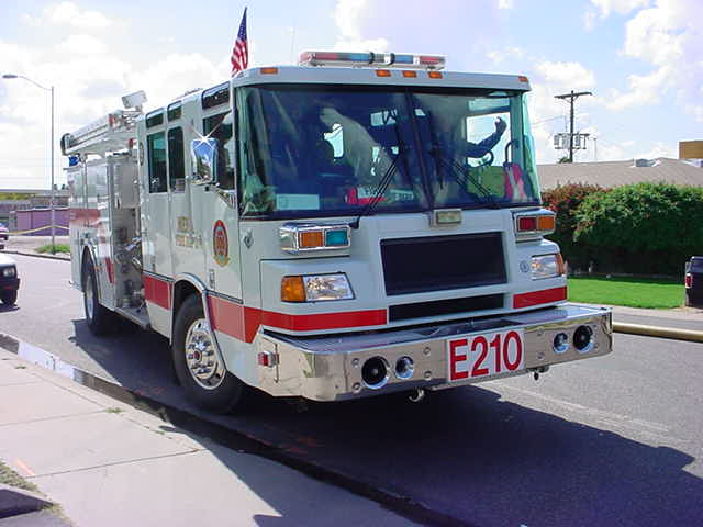 Mesa firetruck E210