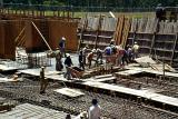 Concrete Pour - Basement slab