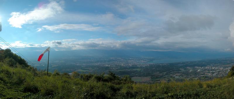 Geneva from Mount Saleve