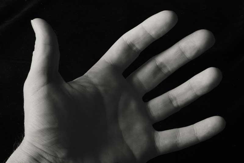 Nov 22: My left hand