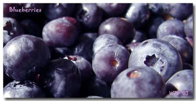 Blueberries ... yummy!