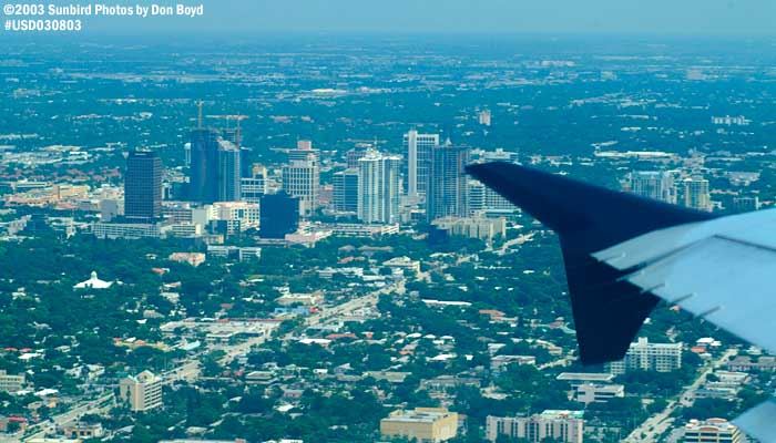 2003 - Downtown Ft. Lauderdale, FL aerial stock photo #6049
