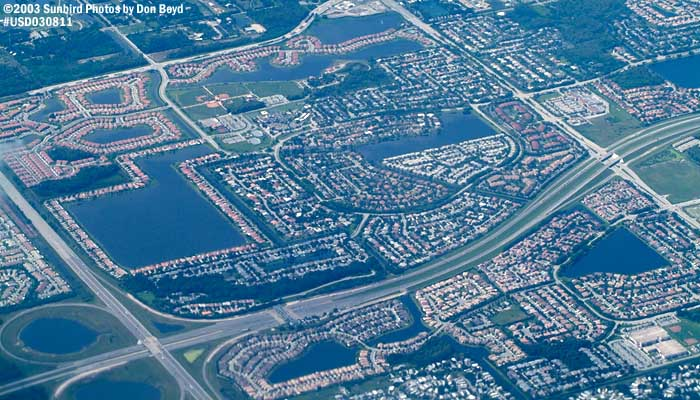 Ronald  Reagan  Turnpike  and  Sawgrass  Expressway  intersection  (#6062)