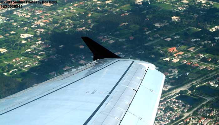 2003 - South of Sawgrass Mills, Sunrise, FL landscape aerial stock photo #6593