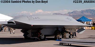 USAF Boeing J-UCAS X-45C #AF07-345 at the 2004 Aviation Nation Air Show stock photo #2239