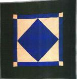 Amish Diamond (1 of a pair) Lancaster Cnty, PA c.1930