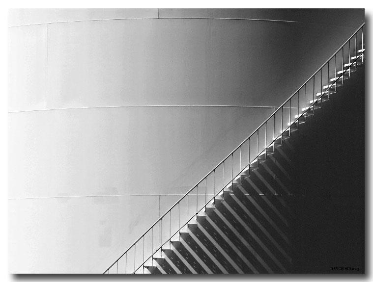 Tank Stairway Shadows II
