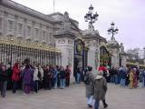 A crowd for changing of the guard