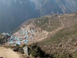 Namche Bazaar fm 3750m