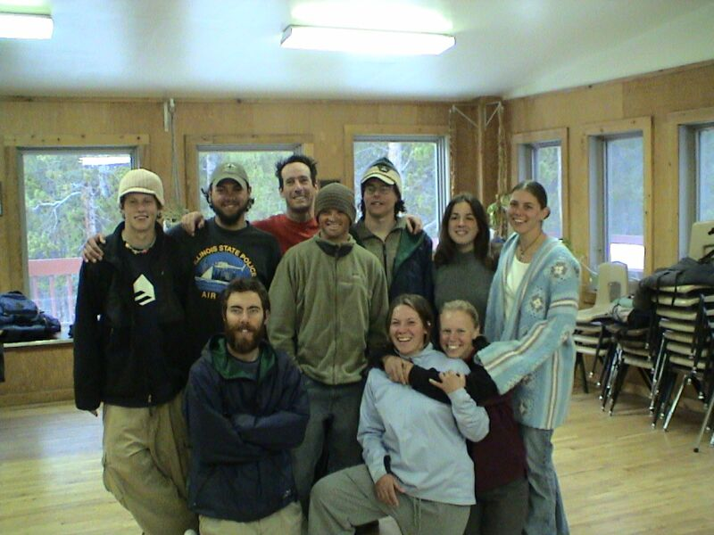THe Gang Back At Leadville, CO, COBS Mountain Center