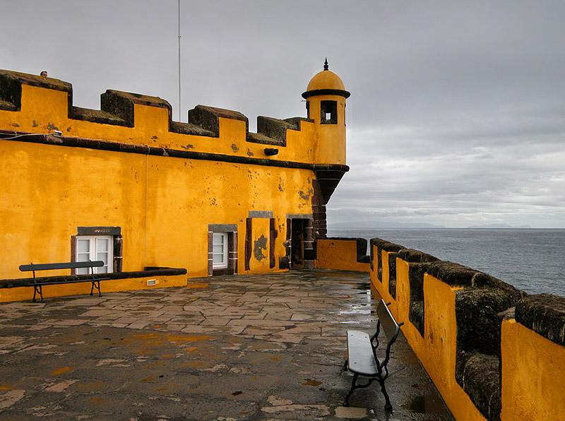 At Forte de Sao Tiago