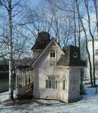 Garden house in Helsinki, Finland