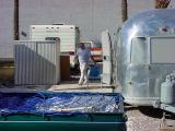 Ricks place, Rick and the airstream