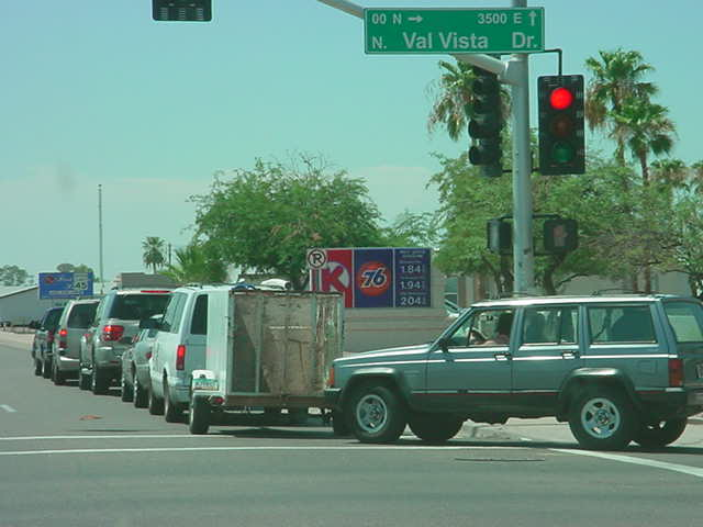 around the corner in Arizona gas shortage
