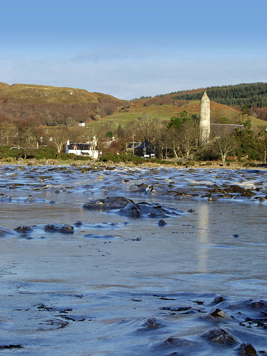 Frozen Sea Loch Dervaig<br>by Jim Spence