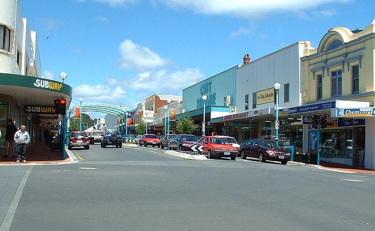Wilson St. south.