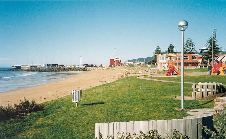 West Beach from the park area