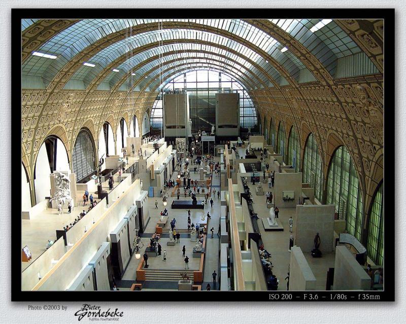 Inside Musée dOrsay