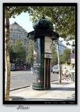 Phone booth on Champs Elysées