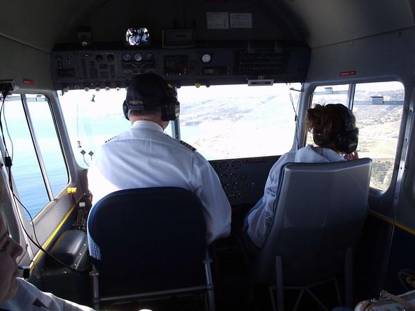 32--Returning to the landing strip