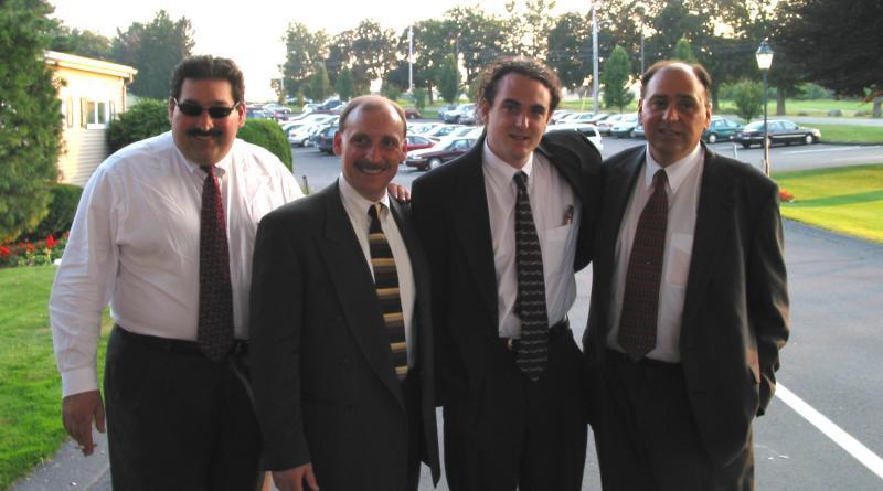 Anthony, Arthur, Brent and John