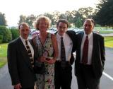 Arthur, Gayle, Brent and John