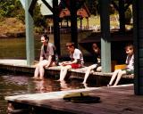 Sittin On The Dock Othe Lake