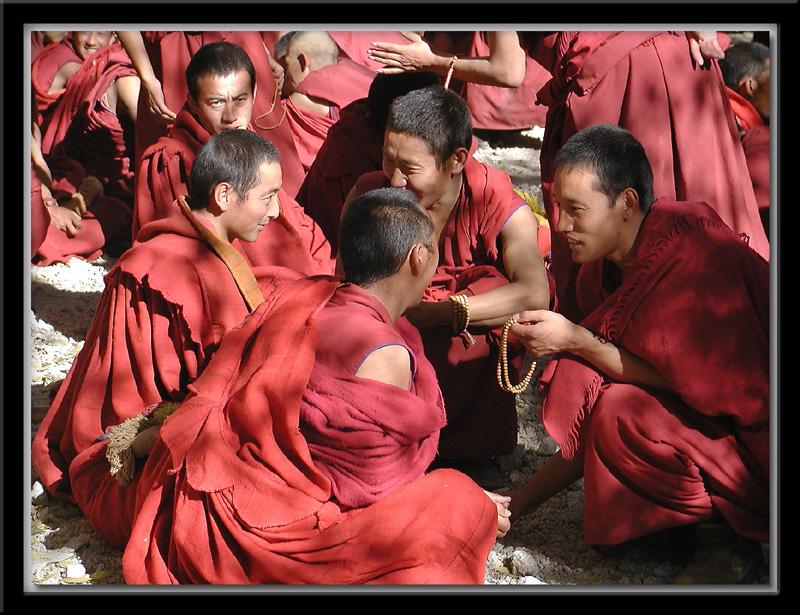 Debates at Sera Monastery 1