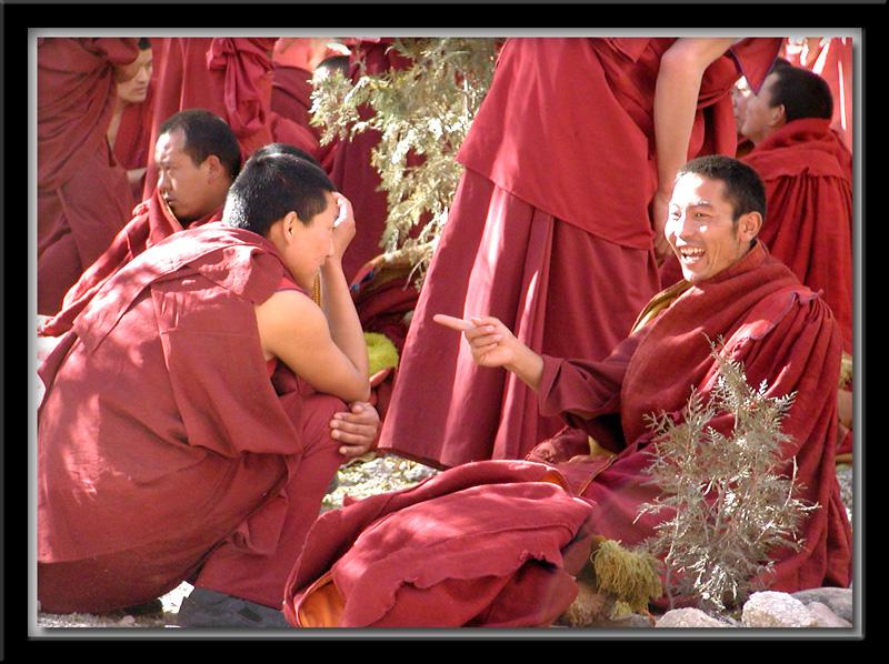 Debates at Sera Monastery 3