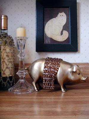 A Fancy Pig ...